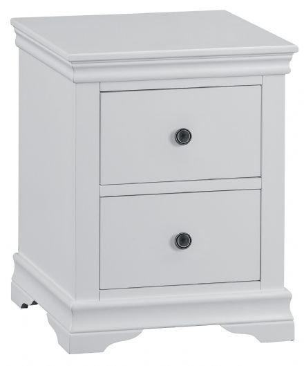 Stratford Grey Painted Large Bedside Cabinet